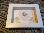 Shabby Personalised Chic Mother Of The Groom Wedding Gift Box Frame Present Mum
